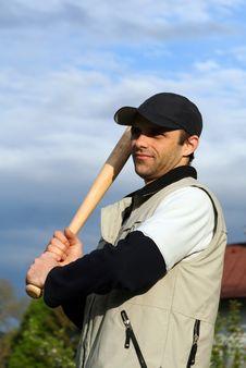 Free Baseball Practice Royalty Free Stock Image - 4983946