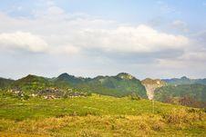 Free Village Of Mountains Stock Photo - 4984670
