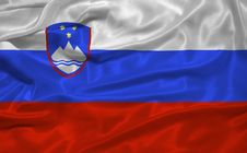 Free Slovenia Flag 3 Royalty Free Stock Images - 4985079
