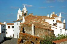 Free Portugal, Alentejo:  Village Of Monsaraz Royalty Free Stock Images - 4985199