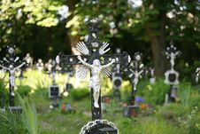 Free Cemetery Of The Unknown Deceased Vienna Royalty Free Stock Photo - 4985305
