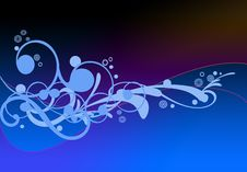 Free Curly Background Royalty Free Stock Photo - 4985315