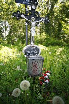 Free Cemetery Of The Unknown Deceased Vienna Stock Photography - 4985352