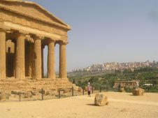 Free Temple In Agrigento Stock Photos - 4985973