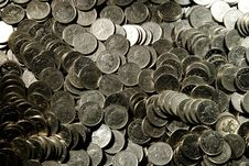 Free 10 Pence Coins Royalty Free Stock Photos - 4986508