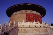 Free Temple Of The Heaven Stock Image - 4987341