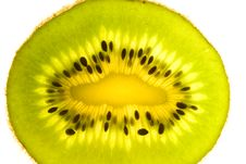 Free Sliced Kiwi. Royalty Free Stock Images - 4987429
