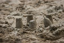 Free Sand Building Royalty Free Stock Photography - 4987477