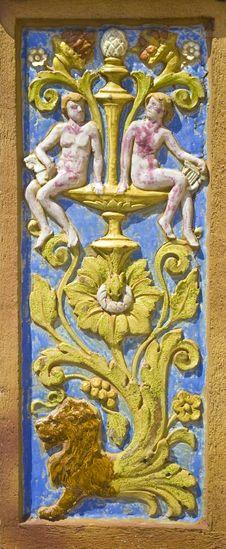Free Fresco Tile Royalty Free Stock Photos - 4987598