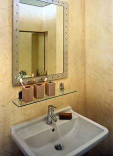 Free Bathroom Royalty Free Stock Image - 4988186