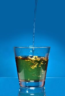 Free Drink Splash Royalty Free Stock Photography - 4988417