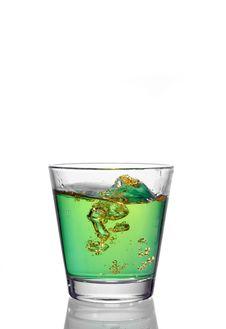 Free Drink Splash Royalty Free Stock Image - 4988436