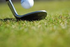 Free Golf Club And Ball Royalty Free Stock Images - 4988709