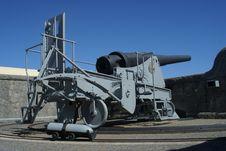 Free Artillery Gun Royalty Free Stock Image - 4988976