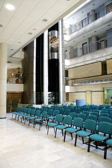 Free Waiting For The Lecture Royalty Free Stock Photos - 4989178