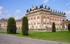 Free Palace From Germany Royalty Free Stock Image - 4989206