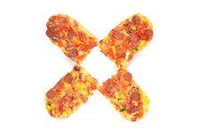 Free Baguettes Salami. Royalty Free Stock Photos - 4989348