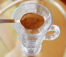 Free Preparing Coffee Latte Royalty Free Stock Photo - 4989655