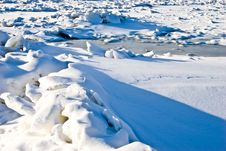 Free Icy River Stock Photography - 4989982