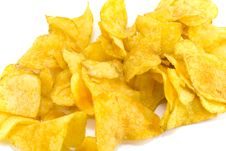 Free Potato Chips Royalty Free Stock Photo - 4989985