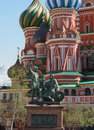 Free Statue Of Kuzma Minin And Dmitry Pozharsky Stock Photo - 4990000