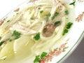 Free Hot Chicken Bouillon Soup Closeup Stock Photography - 4998342
