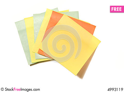 Free Note Pad Royalty Free Stock Images - 4993119