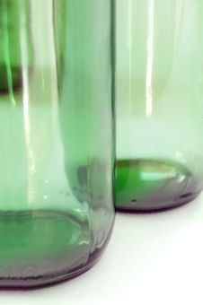 Free Green Bottle Stock Photography - 4990082