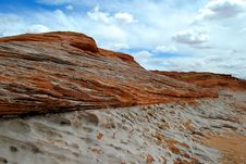 Free Sandstone Strata Stock Photo - 4991210