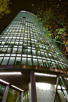 Potsdamer Platz At Night Stock Image