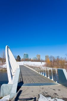 Free The Falling Bridge Stock Photo - 4991650
