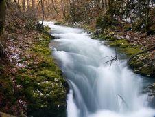 Free Mountain Stream Stock Photography - 4992812