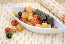 Free Pasta Tricolore Royalty Free Stock Photo - 4992815