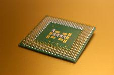 Micro Processor Stock Photo