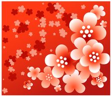 Free Red Flower Background Stock Photos - 4993093