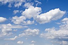Free Clouds On Blue Sky Royalty Free Stock Images - 4993109