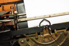 Free I Love You, Old Typewriter Stock Image - 4993941