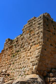 Ancient Nimrod Fortress In Israel Royalty Free Stock Images