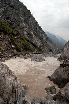 Free Canyon In Yunnan China Royalty Free Stock Images - 4994459
