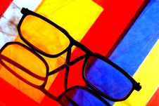 Free Eyeglass Abstract Stock Photography - 4994542
