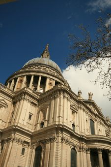 Free St Pauls Cathedral London United Kingdom Stock Photo - 4994640