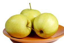 Free Apples Royalty Free Stock Photo - 4994975