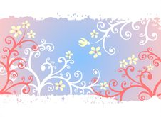 Free Light Floral Background Stock Images - 4995264