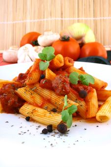 Free Rigatoni Pasta Stock Photo - 4995530