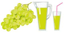 Free Grapes Juice Stock Images - 4995604