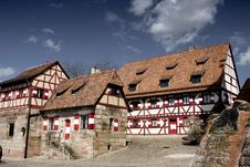 Free Medieval Buildings Royalty Free Stock Photo - 4995845