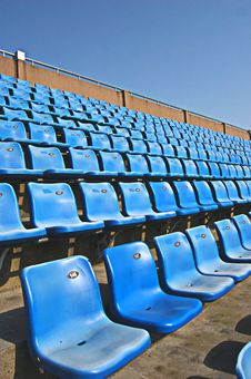 Free Spectator Seat Royalty Free Stock Photos - 4995998