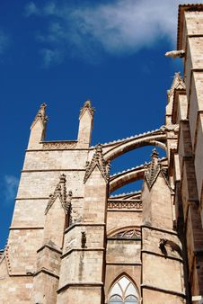 Free Arcs Of Gothic Cathedral Stock Images - 4996214