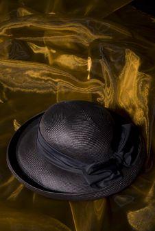Free Dark Blue Ladies Hat Stock Images - 4997054