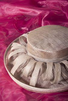 Free Beige Ladies Formal Dress Hat Stock Photos - 4997173
